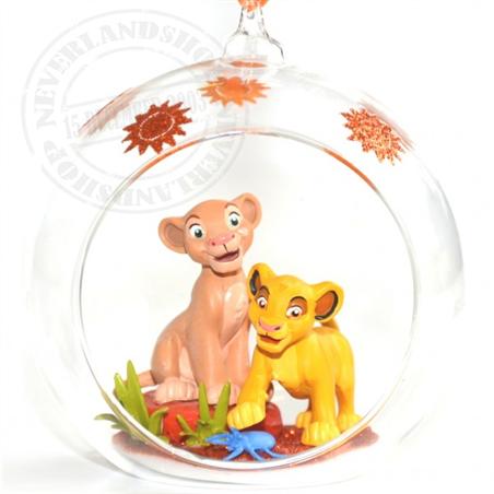 8911 3D Figuur in Open Bal - Nala & Simba