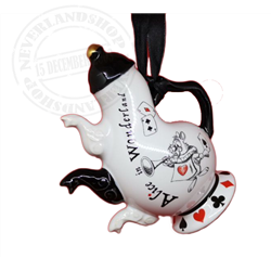 8905 Tea Time Tea Pot Ornament - Alice