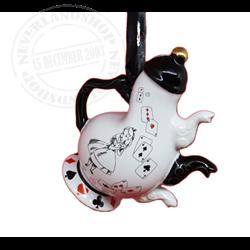 8905 Tea Time Tea Pot Ornament - Alice