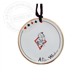 8908 Tea Time Plate Ornament - Alice