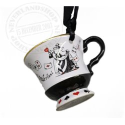 8909 Tea Time Cup Ornament - Alice