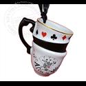 8907 Tea Time Stacked Mug  Ornament - Alice