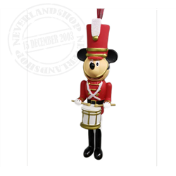 8913 3D Dangle Ornament Soldier - Mickey