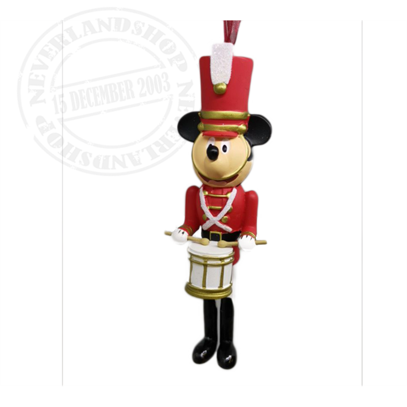 8913 3D Dangle Ornament Soldier - Mickey