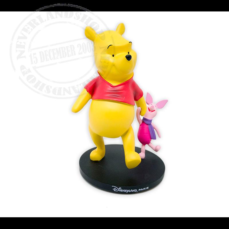 Klein Figuur Op Base - Pooh & Piglet
