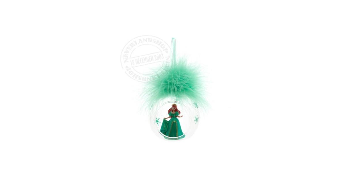 8349 3D Ornament  in open glazen bal - Ariel