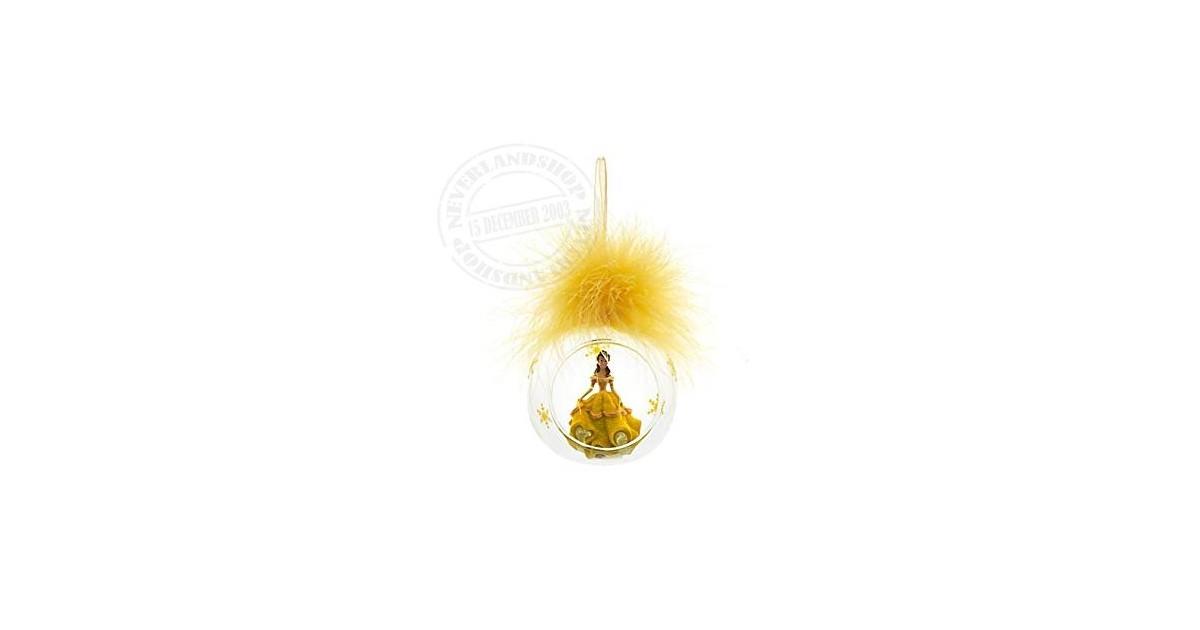 8915 3D Ornament  in Open Glazen Bal - Belle
