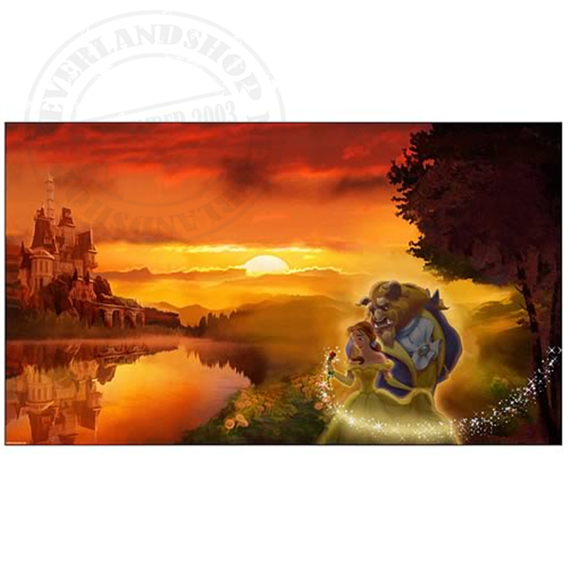 Sunset Romance Giclee - Beauty & the Beast