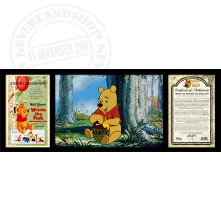 Hunny Pot Sericel Art - Pooh