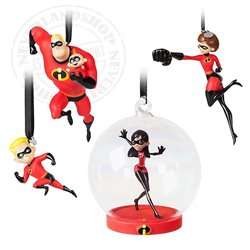4dlg Ornament Set - Incredibles