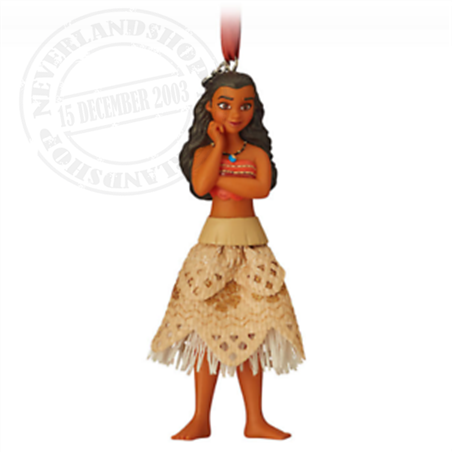 8779 3D Gown Ornament - Moana