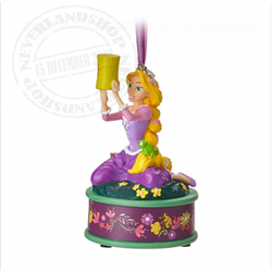 8774 3D Dangle Ornament Singing - Rapunzel