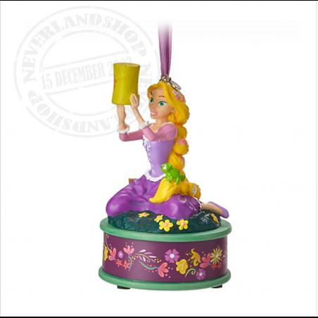 8774 3D Dangle Ornament Singing - Rapunzel