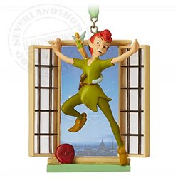 8767 3D Dangle Ornament - Peter Pan & Tinker Bell