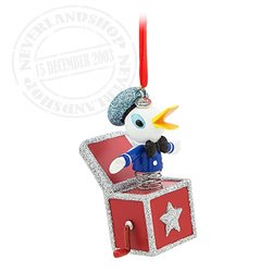 8610 3D Dangle Ornament Vintage Toy - Donald