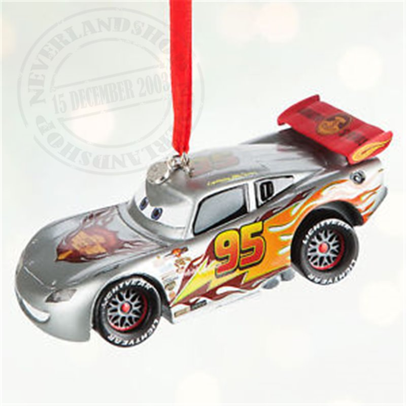 8536 3D Light up Ornament - McQueen