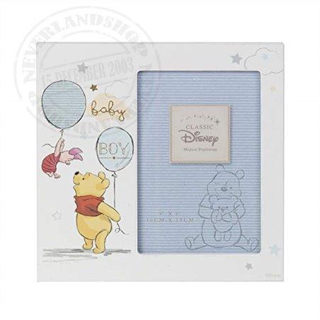 "Magical Beginnings Frame 4"" x 6"" BOY - Pooh & Piglet"
