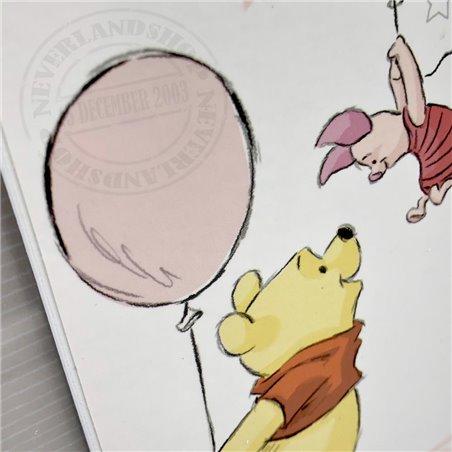 "Magical Beginnings Frame 4"" x 6"" GIRL - Pooh & Piglet"
