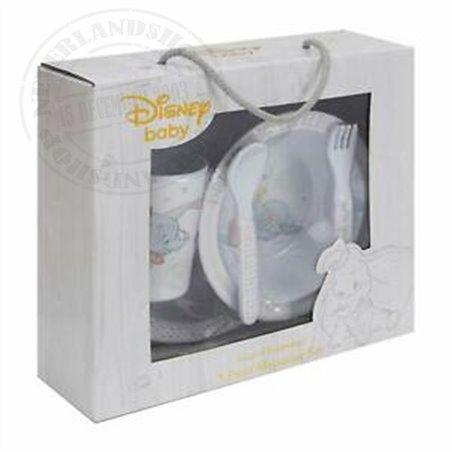 Magical Beginnings 5 Piece Melamine Crockery Set - Dumbo