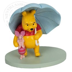 Magical Moments Under the Umbrella - Pooh & Piglet