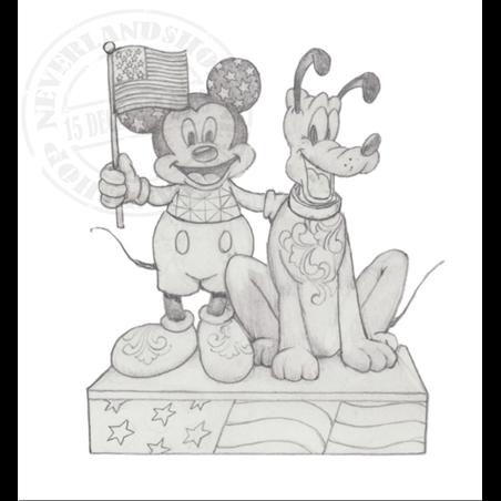 Patriotic - Mickey & Pluto