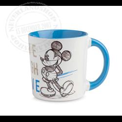 LLL 659 Mug Blue - Mickey