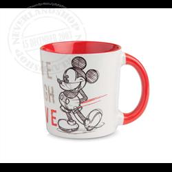 LLL 642 Mug Red - Mickey