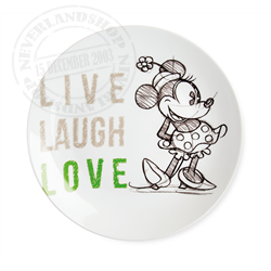 LLL 819 Dinner Plate Green - Minnie