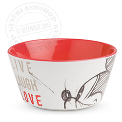 LLL 697 Bowl Red - Mickey