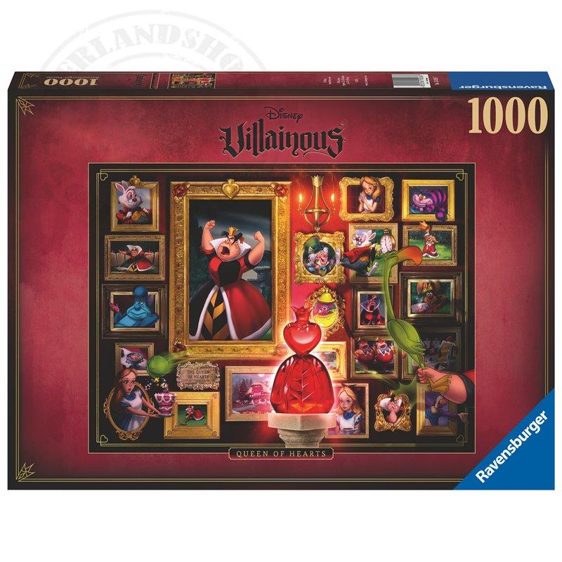 Villainous Puzzel - Queen of Hearts