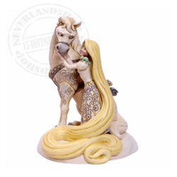 White Woodland Innocent Ingenue - Rapunzel & Maximus