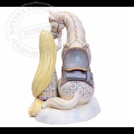 White Woodland Innocent Ingenue - Rapunzel & Maximus