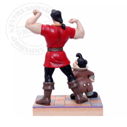 Muscle-Bound Menace  - Gaston & Lafou