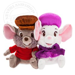 Disney Store Plush Small - Bianca & Bernard