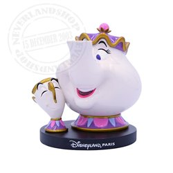 Klein Figuur - Mrs. Potts & Chip