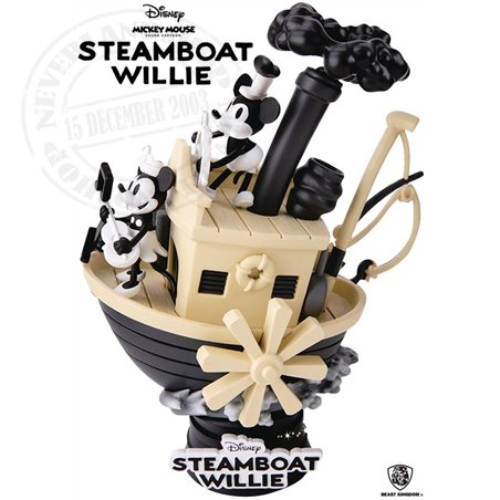 Diorama - Steamboat Willie