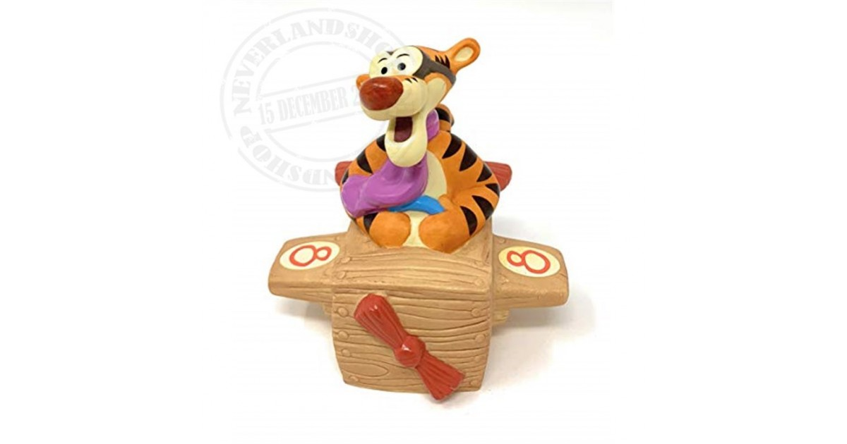 Age 8 - Eight Is For Discovering The World Near & Far - Tigger