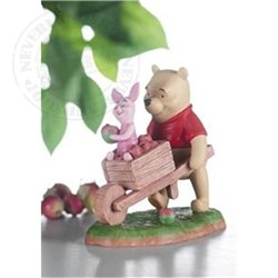 Collecting Friends Along The Way - Pooh &  Piglet