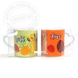 Set 2 Mugs - Nala & Simba