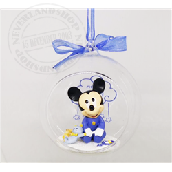8927 3D Figuur in Bal 1st Christmas - Mickey