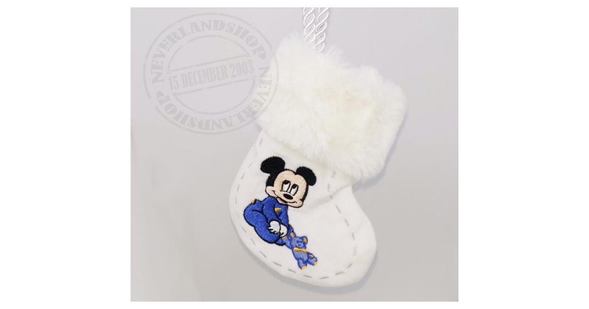8930 Kerstsok Ornamnet 1st Christmas - Mickey