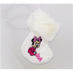 8931 Kerstsok Ornamnet 1st Christmas - Minnie