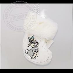 8932 Kerstsok Ornamnet 1st Christmas - Thumper