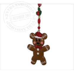 8933 3D Ornament Gingerbread - Mickey
