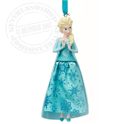 8969 Gown Ornament - Elsa