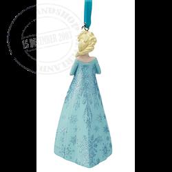 8969 Gown Ornament - Elsa