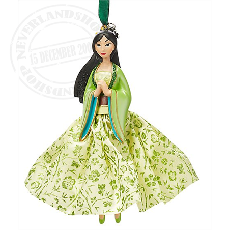 8970 Gown Ornament - Mulan