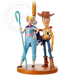 8946 3D Ornament - Bo Peep & Woody