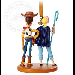 8946 3D Ornament - Bo Peep & Woody