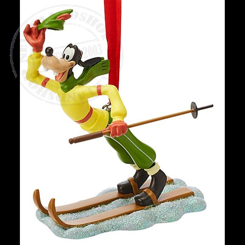 8957 3D Ornament Skiien - Goofy